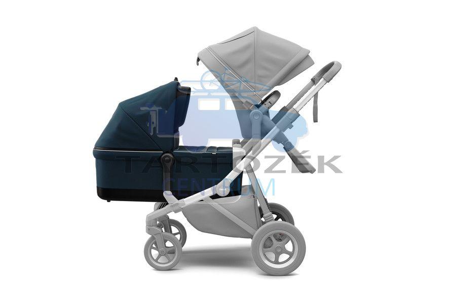 Thule Sleek mózeskosárral 11000010 babakocsi Kék